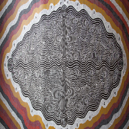 0046- Janganpa Jukurrpa – brush tail possum dreaming